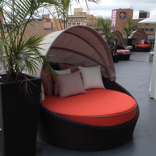 Hallo Round Daybed with Canopy