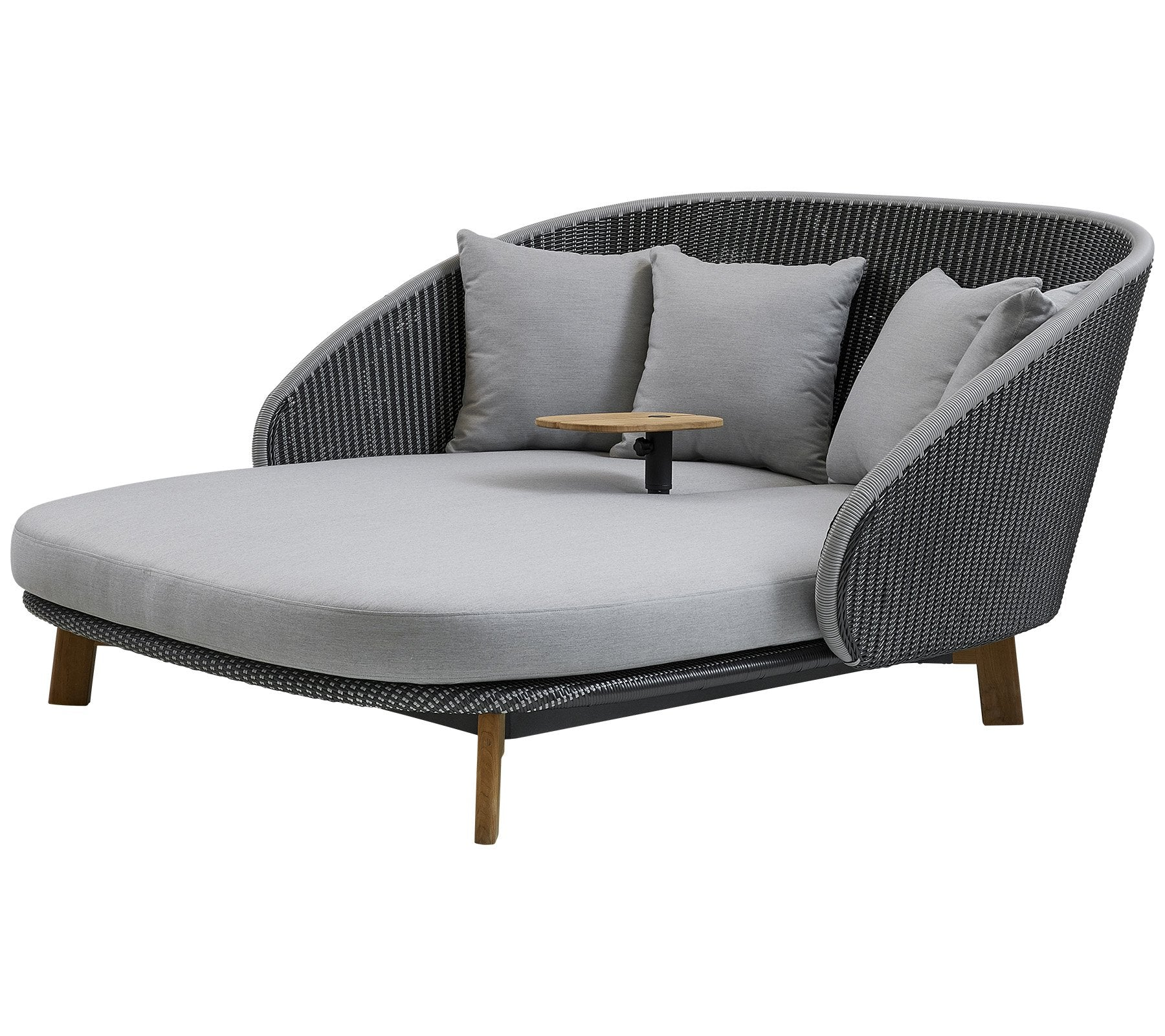 Peacock Daybed w/ Table