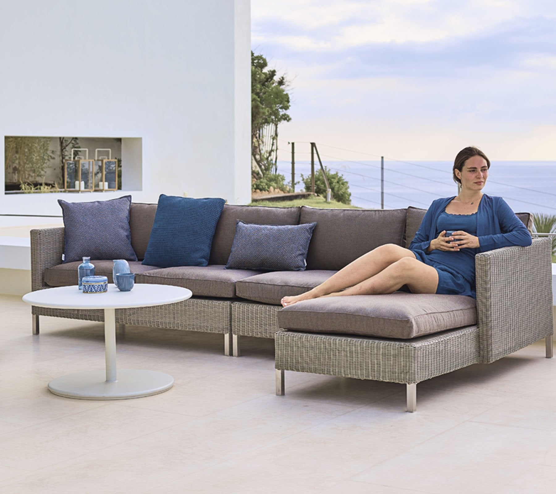 Connect Chaise Lounge Sofa Left Module