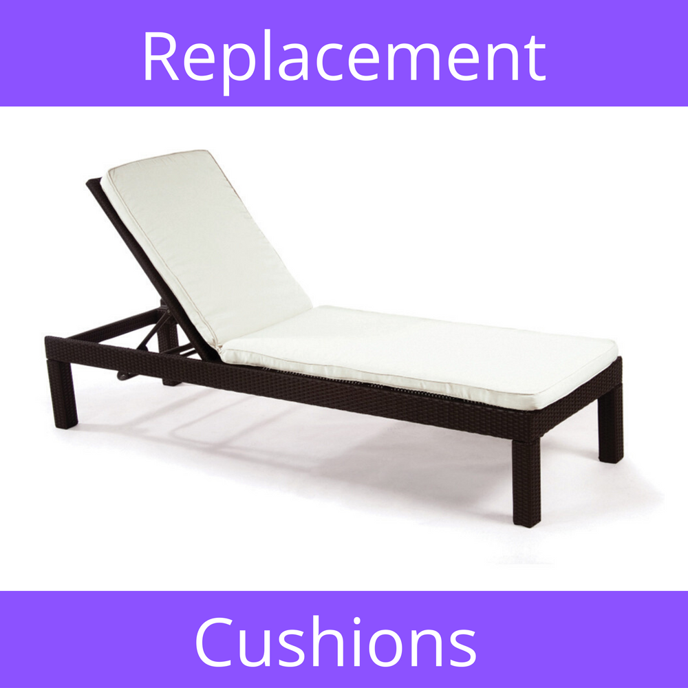 Chaise Sunbrella Replacement Cushions