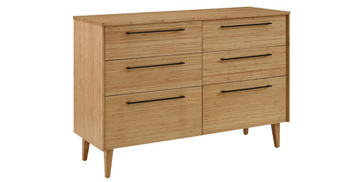 Sienna Six Drawer Dresser