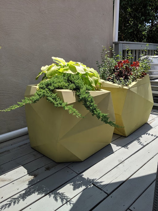Origami Tall 26 Planter Set with Plants