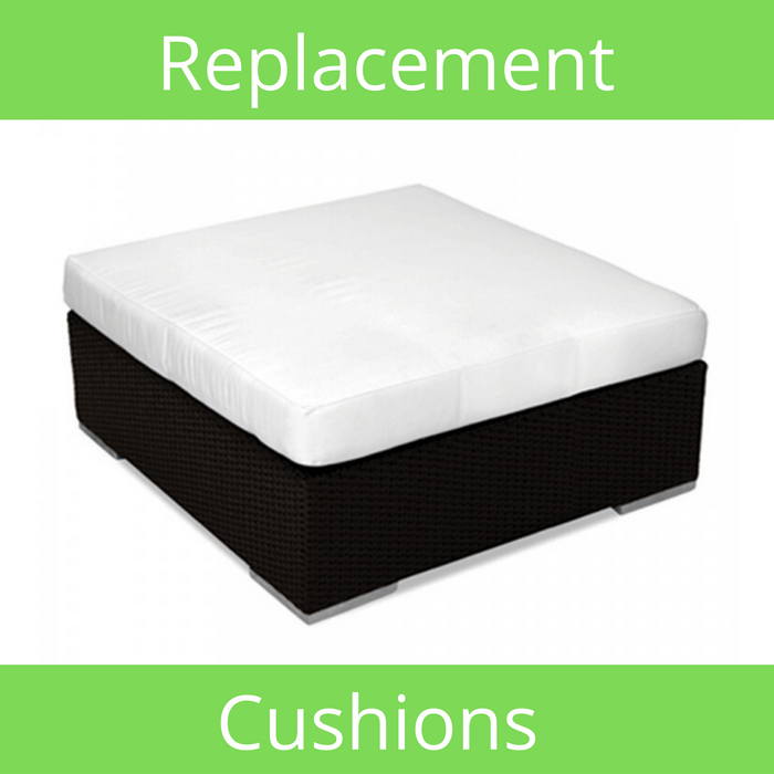 Large Square Ottoman Sunbrella Replacement Cushion