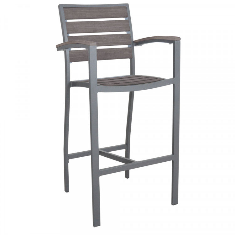 Martinique Barstool with Arms