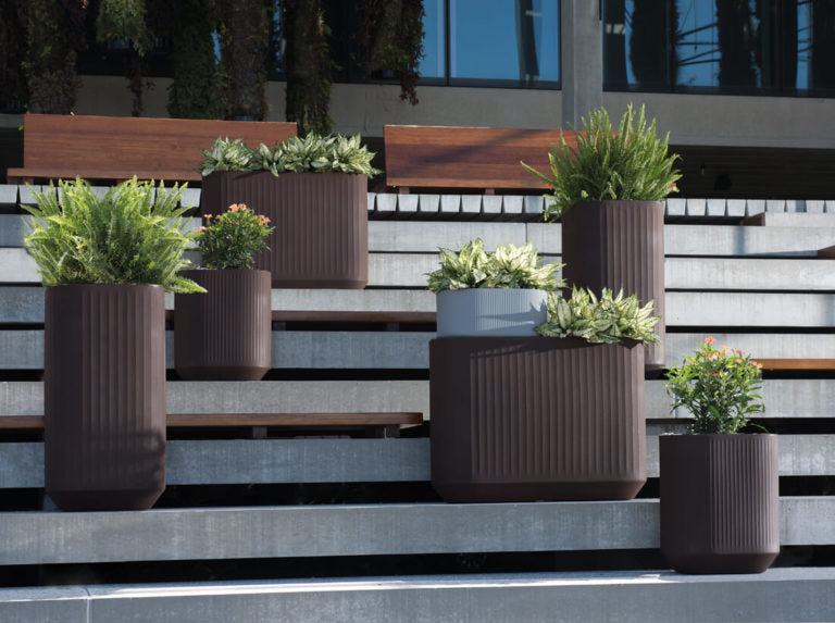 "Mod Planters with Self Watering TruDrop 20"" x 20"" x 38"""