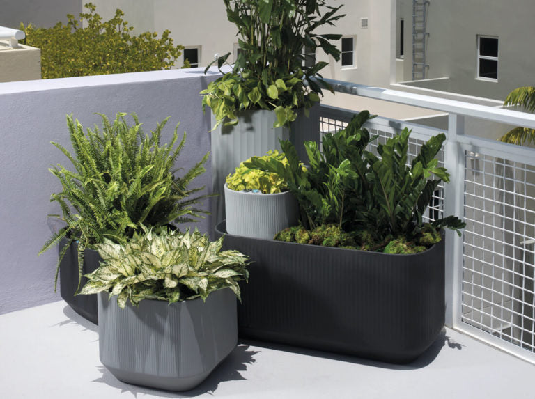 "Mod Planters with Self Watering TruDrop 40"" x 20"" x 20"""