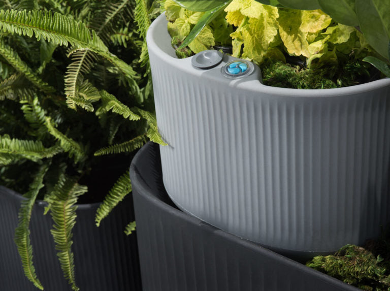 Mod Planters with Self Watering TruDrop