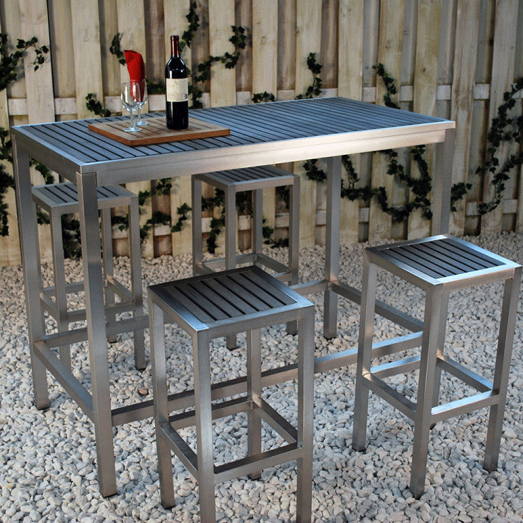 Sicilia Rectangular Bar Table (No Umbrella Hole)