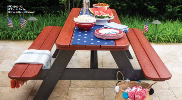 Recycled Poly Picnic Table