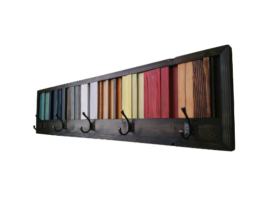 Gradient Coat Rack