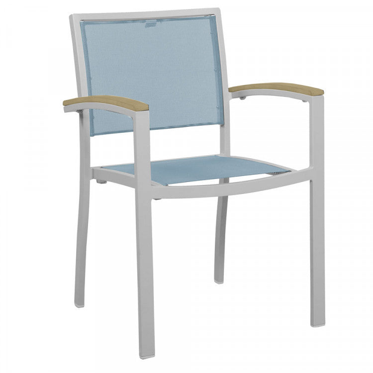 Saint Lucia Dining Chair with Arms