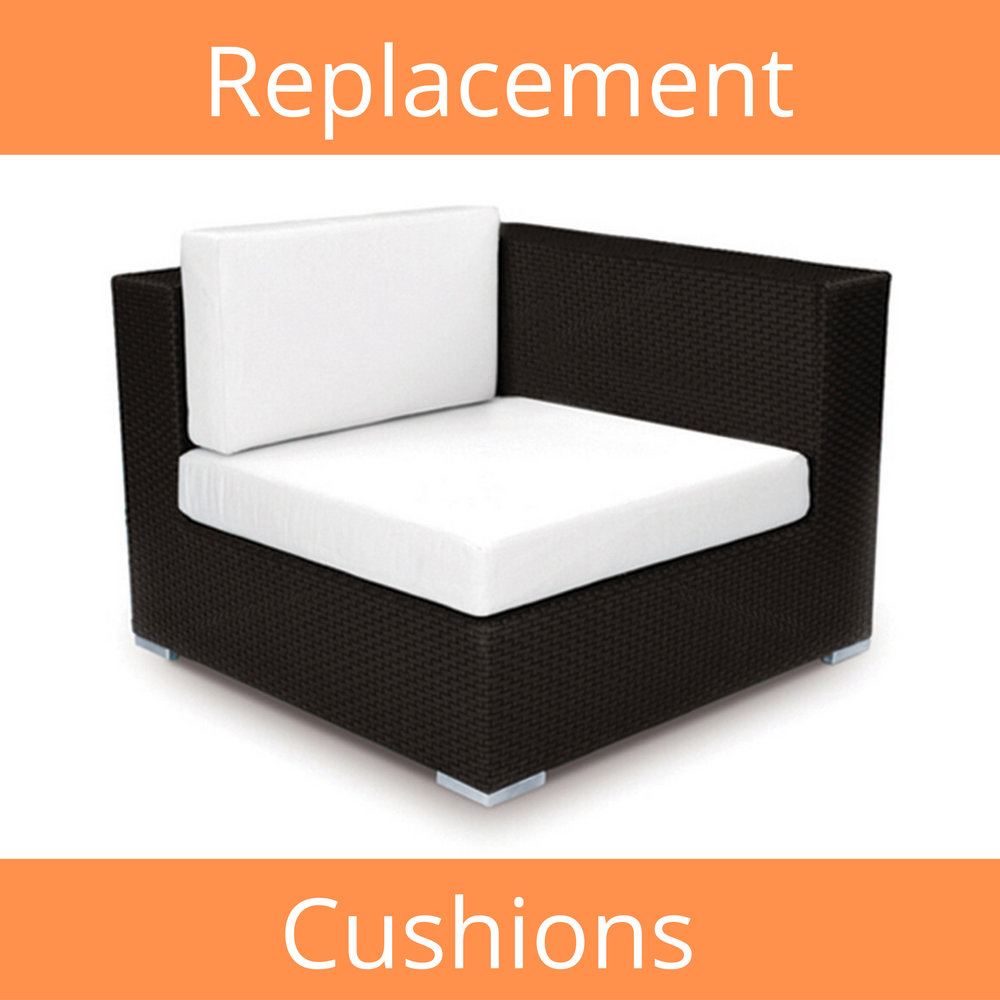 Sectional End Sunbrella Replacement Cushion