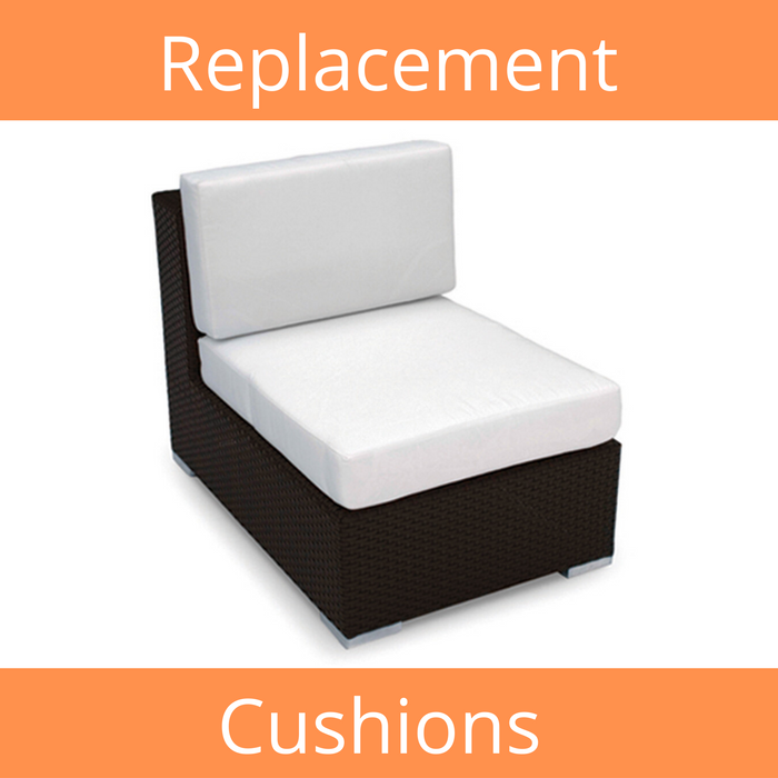 Sectional Middle Sunbrella Replacement Cushions
