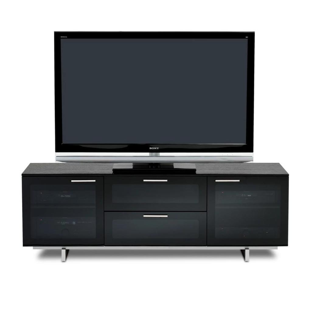 Avion Noir Triple Media Cabinet