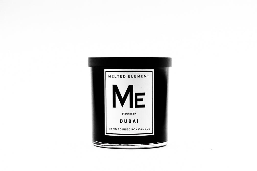 Melted Element Dubai Candle