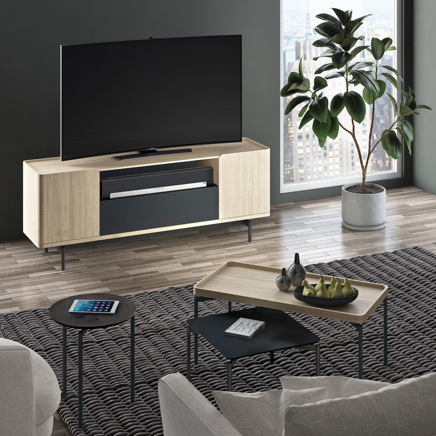 Radius Rectangular Coffee Table