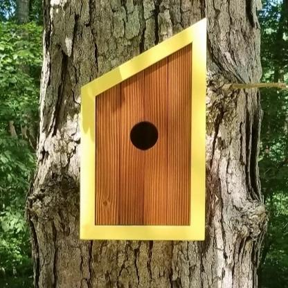 Minimalist Honey Birdhouse