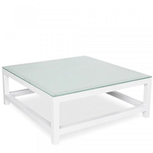 Toledo Coffee Table with Tempered Glass Top