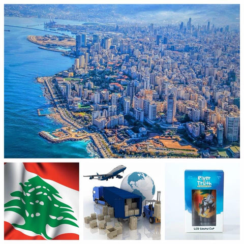 Lebanon, Beirut, safeer tv, imam hussain cup, river of truth cup, glass imam hussain, imam hussein