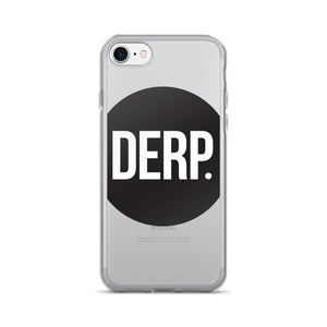 DERP LOGO iPhone 7/7 Plus Case