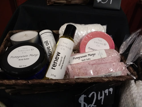Spa and Massage Gift Basket - Small
