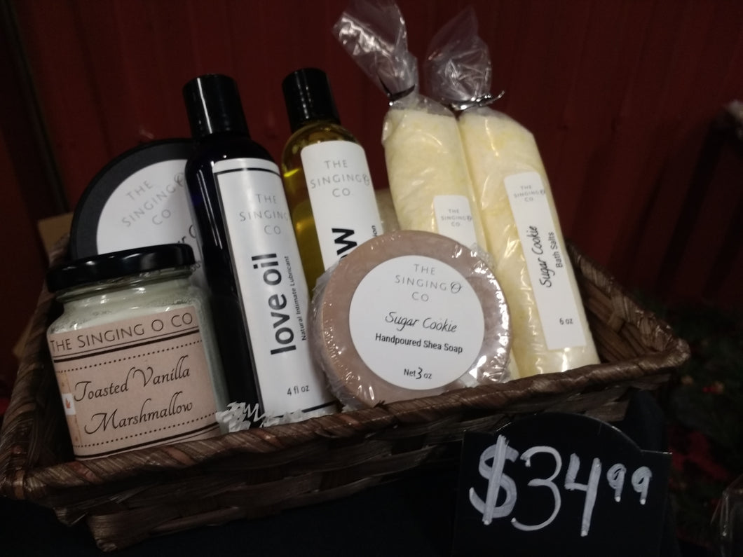 Spa and Massage Gift Basket - Large