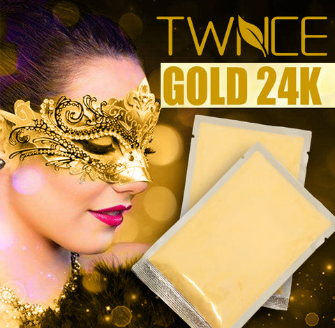 24K Gold Collagen Powder Anti-Aging Moisturizing Face Mask
