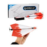 New Flying Power Up Paper Electric Airplane Model Kit