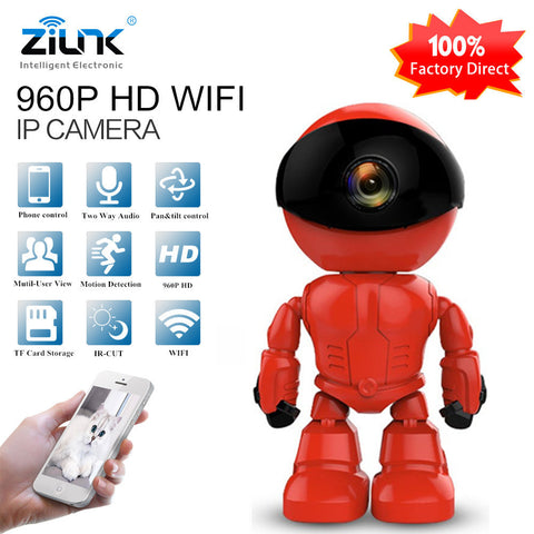HD Wireless WI-FI IP Camera Robot