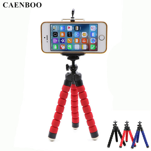 Mini Flexible Octopus Portable Mount Tripod Stand Holder For Smart Phones
