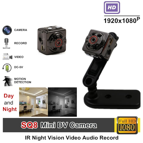 Full HD Video 1080P DV DVR Mini Camera Camcorder - Spy Cam