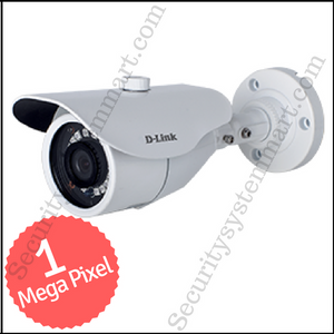 D-Link 1MP HD CCTV Camera with Night Vision (Bullet)