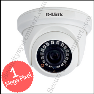 D-Link 1MP HD CCTV Camera with Night Vision (DOME)