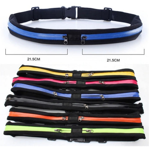 Slim Running Waist Bag - Mix colors