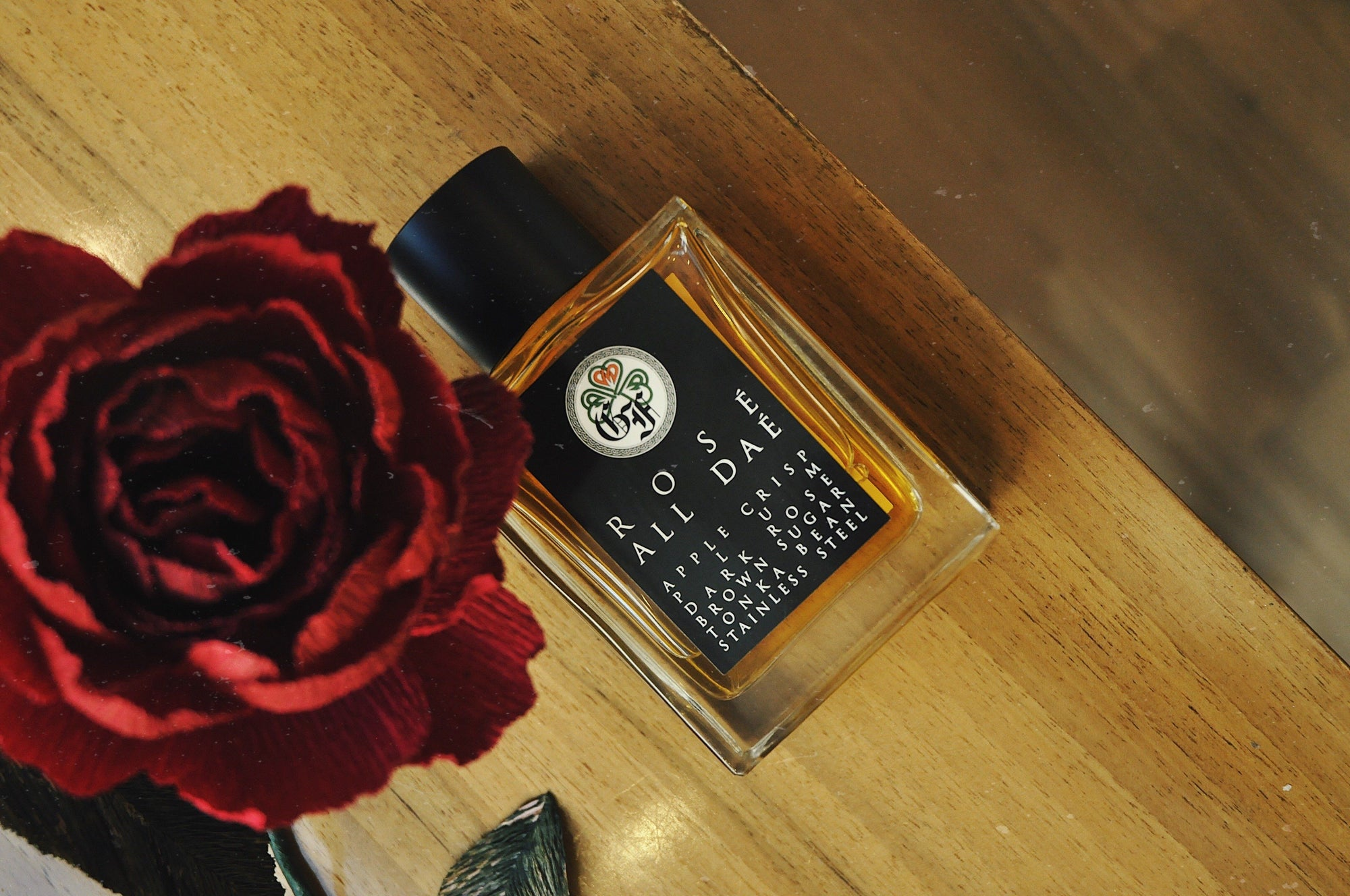 Steel Rose: Gallagher Fragrances Scented Notes by Perfumarie
