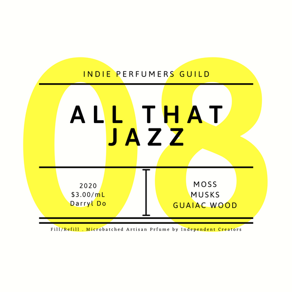 All That Jazz Indie Perfumers Guild at Perfumarie