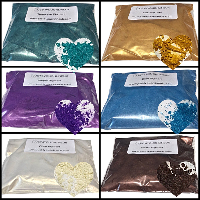 Brand new Pigment Powder, Glitter Flakes and Opal Flakes -10% off discount introductory offer