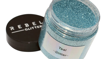 Brand New Teal Glitter Sparkle - 50g pot Rebel Glitters