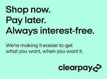 Clearpay now available at Just4youonlineuk - Shop now, enjoy, pay later - interest free xx
