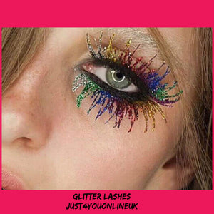 Glitter lashes eye lashes mascara contour lip foundation cosmetics makeup bulk wholesale supplier uk ireland Europe concealer contouring skin care sun tan lotion holiday fashion natural makeup festival glitter make up