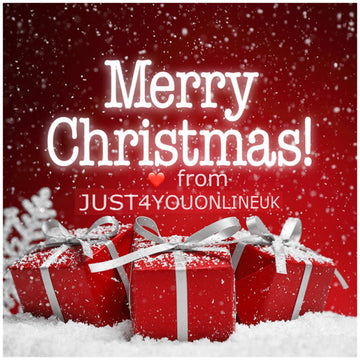 Merry Christmas from JUST4YOUONLINEUK - SAVE 15% off everything!!!! 🎄