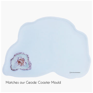 The Ultimate Geode Silicone Resin Mould - table, tray, wall art plus more!!!!!