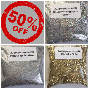 Glitter eyeshadow glitter nails glitter hair gold silver holographic cheap bargain bulk wholesale deals glitter shapes Stars makeup beauty half price cosmetics genuine certified cruelty free vegan polish varnish online eyebrows