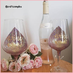 Glitter Wine Glasses Decoration Fine Glitter Craft Glitter Art Glitter Bulk