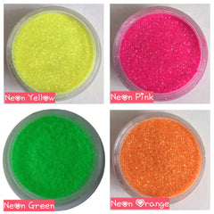 Neon pink green orange yellow glitter makeup beauty fashion festivals festival edm dj dance clubbing rave party music live music band