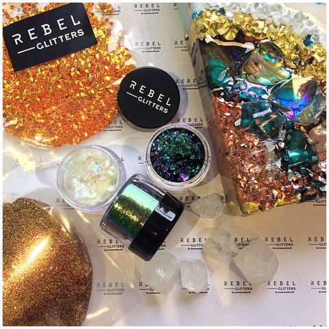 Epoxy resin art materials shop sale glitter flakes dust acrylics acrylic powder nails