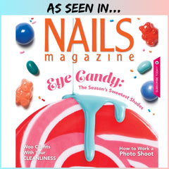 Glitter for nail art featured by Nails Magazine