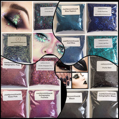 Blue cosmetic glitter purple silver holographic black chunky Fine ultra red brown violet green pink grey gold white iridescent rose gold turquoise neon yellow orange pink green lavender