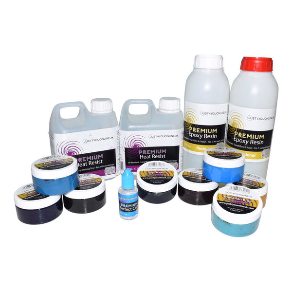 Just4youonlineUK Epoxy Resin UK Resin Starter Kits