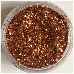 "Larger fine flakes of glitter 0.015"" 0.4mm glitter rose gold nail art Eyeshadow hair makeup salon nails"